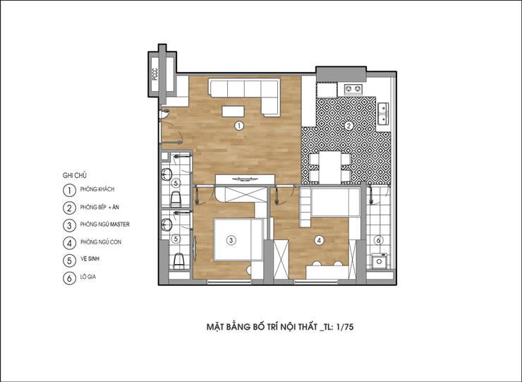 NICE2 Architects:  Spa by Kiến trúc NICE2