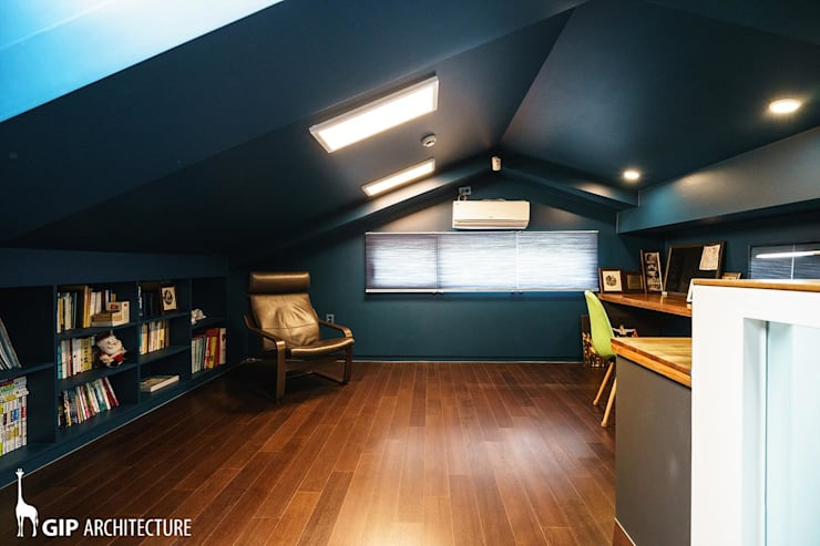 THE ARENA: GIP의  서재 & 사무실