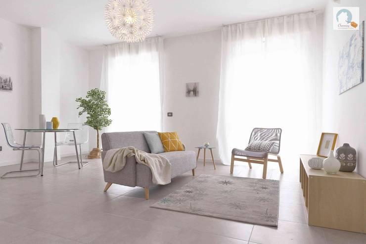 Salas / recibidores de estilo  por Charming Home, Moderno