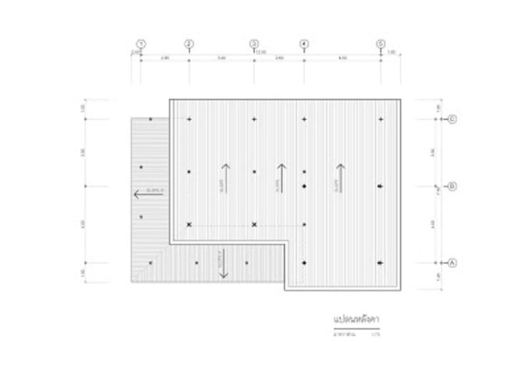 แบบบ้านชั้นเดียว TR1-34:   by homeplan360d