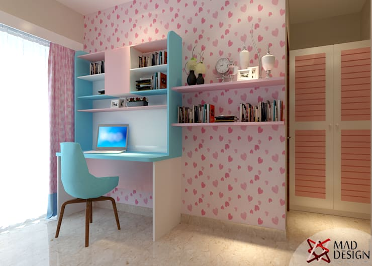 Apartment Project @Palm terrace drives by MAD DESIGN:  Nursery/kid's room by MAD DESIGN
