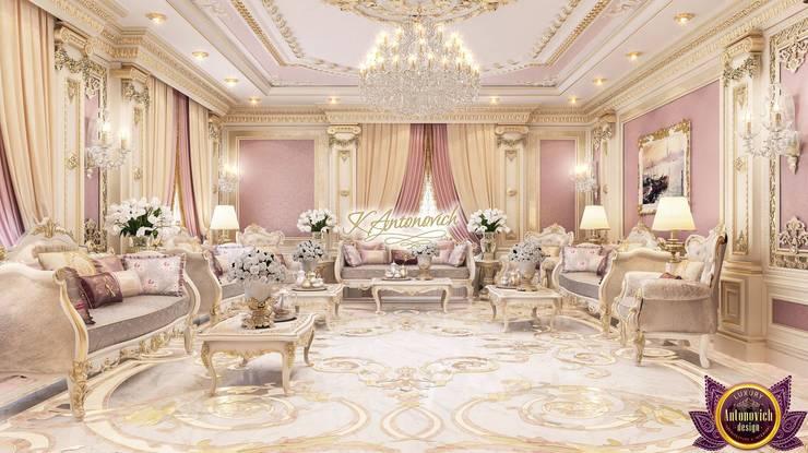 Salones de estilo clásico de Luxury Antonovich Design Clásico