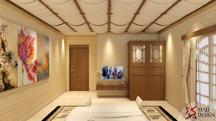 colonial Bedroom by MAD DESIGN