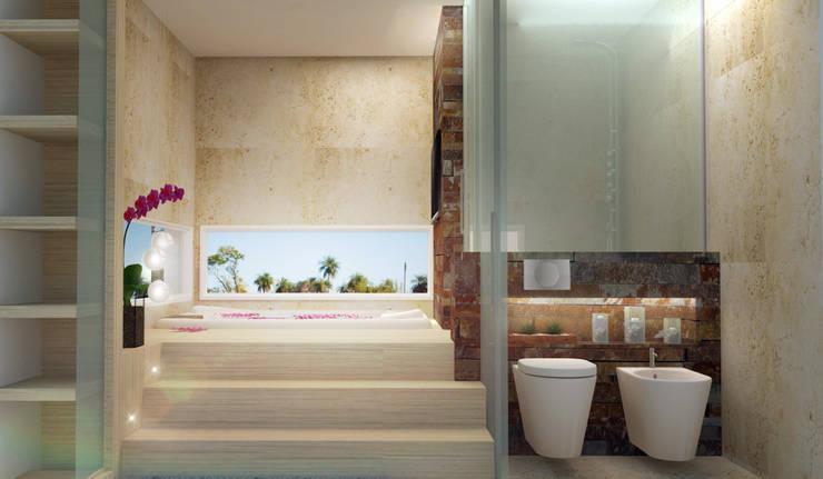 Baños de estilo  por Estudio A+I