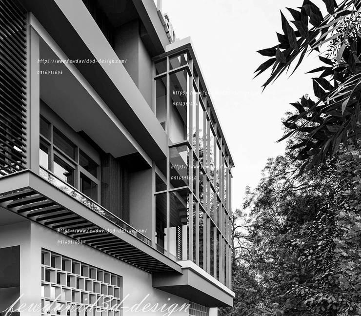 Resort & Hotel จ.ราชบุรี:  ระเบียง, นอกชาน by fewdavid3d-design