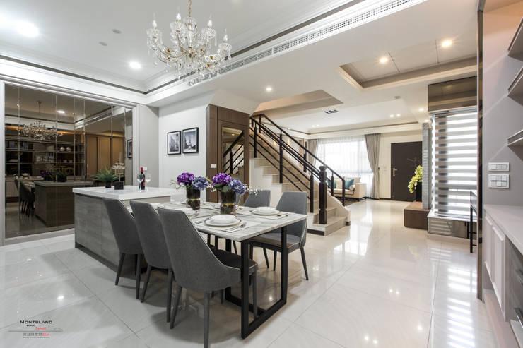 良勳建設-蕾夢湖 II:  餐廳 by SING萬寶隆空間設計