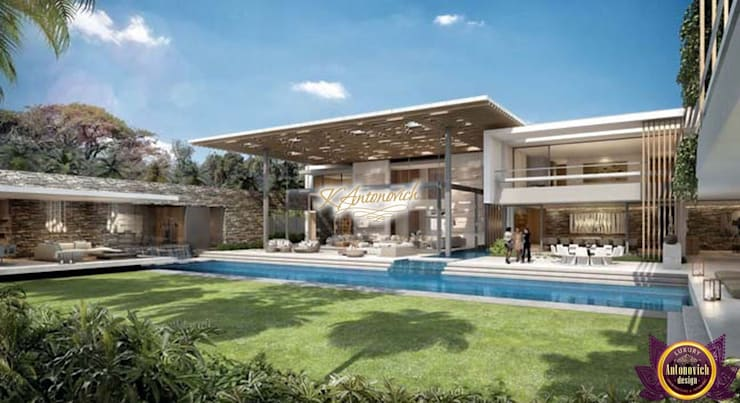 ​Architectural project in Los Angeles by Katrina Antonovich:  Houses by Luxury Antonovich Design, Modern