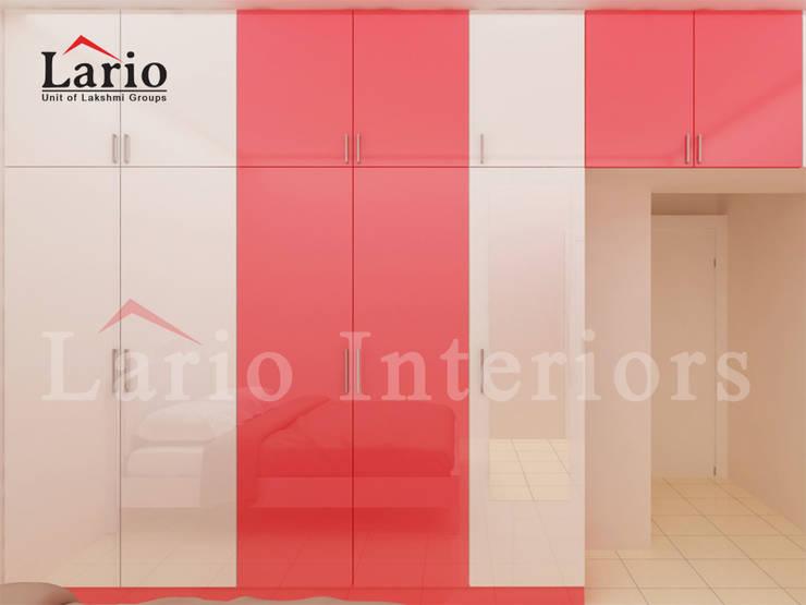 Wardrobe:  Dressing room by Lario interiors