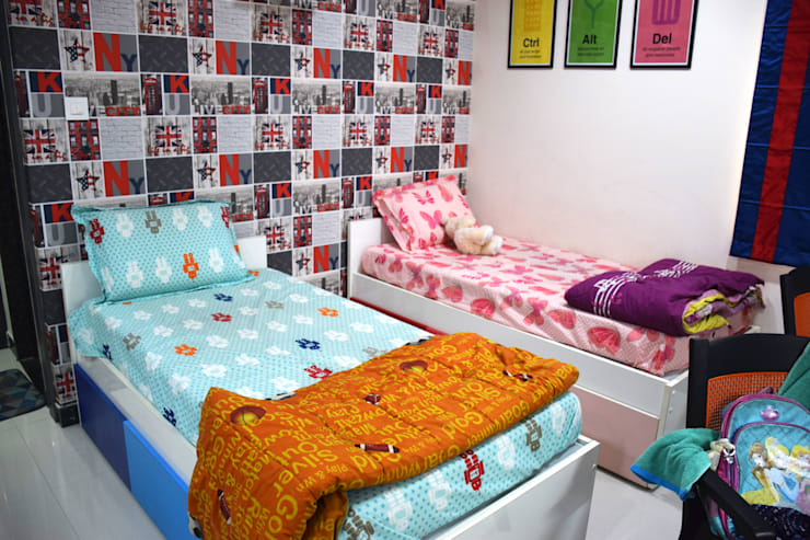 MY Home Vihanga:  Bedroom by Dream Modular