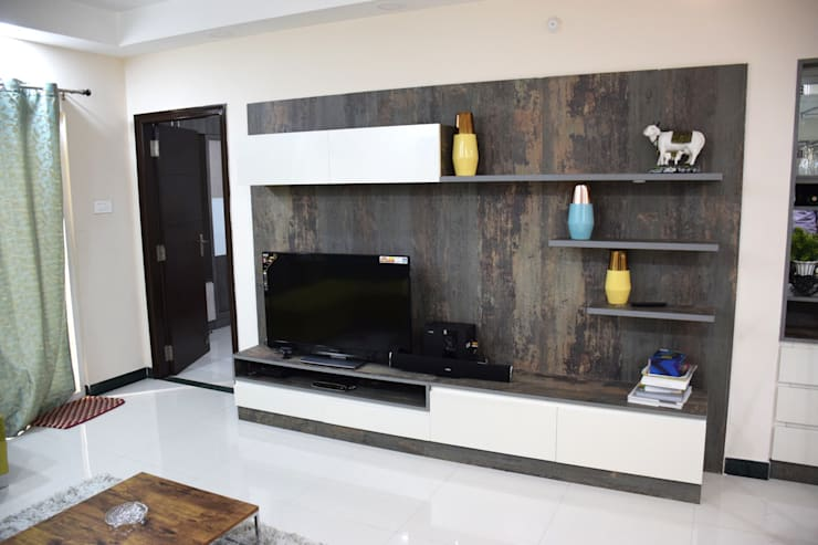 MY Home Vihanga:  Living room by Dream Modular