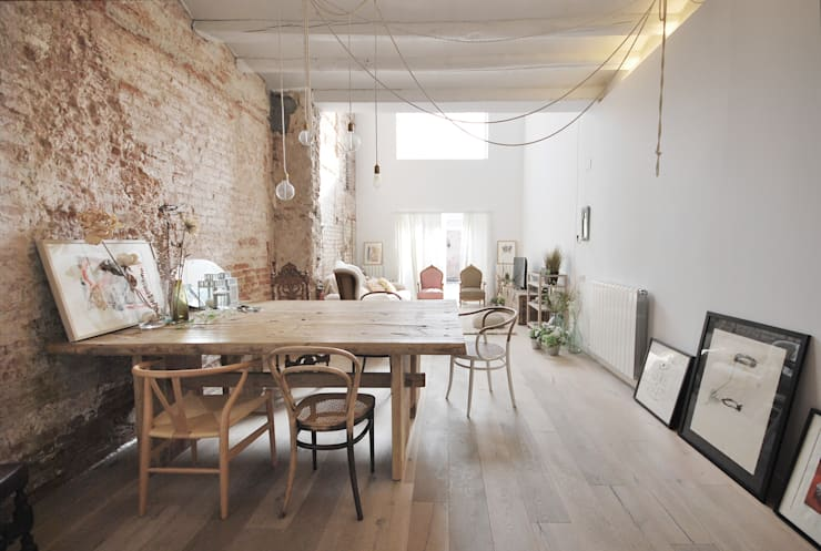 Sala da pranzo in stile  di Abrils Studio