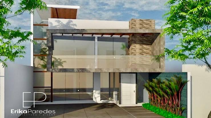Projekty,  Dom jednorodzinny zaprojektowane przez EPG  Studio