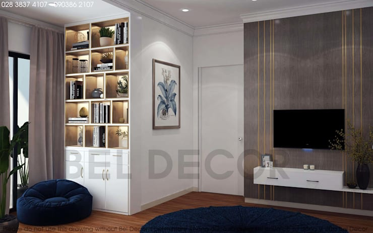 Project: HO17115 Apartment/ Bel Decor:   by Bel Decor