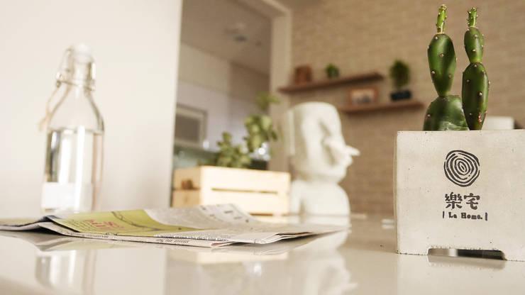.:  廚房 by 樂宅設計 系統傢俱