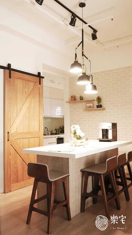 .:  餐廳 by 樂宅設計 系統傢俱
