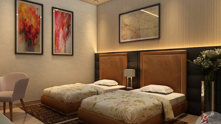 RESIDENTIAL PROJECT: eclectic Bedroom by MAD DESIGN