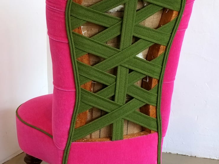 pINK:  Living room by Urban Upholstery