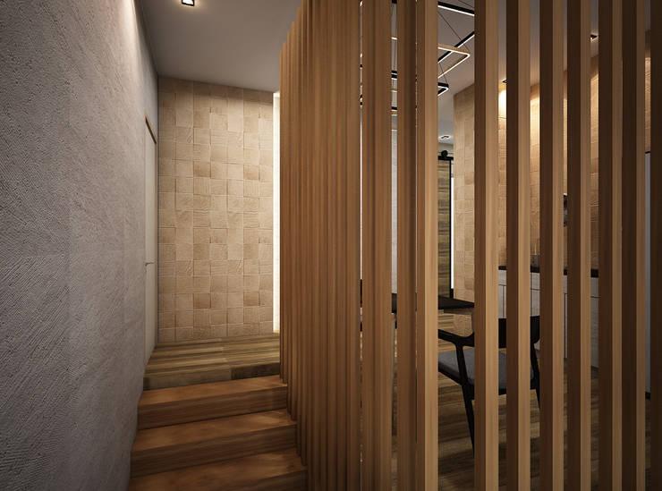 樓梯 by Zero field design studio, 工業風