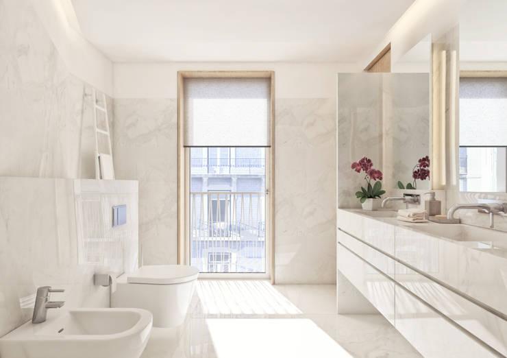 modern Bathroom by Onstudio Lda
