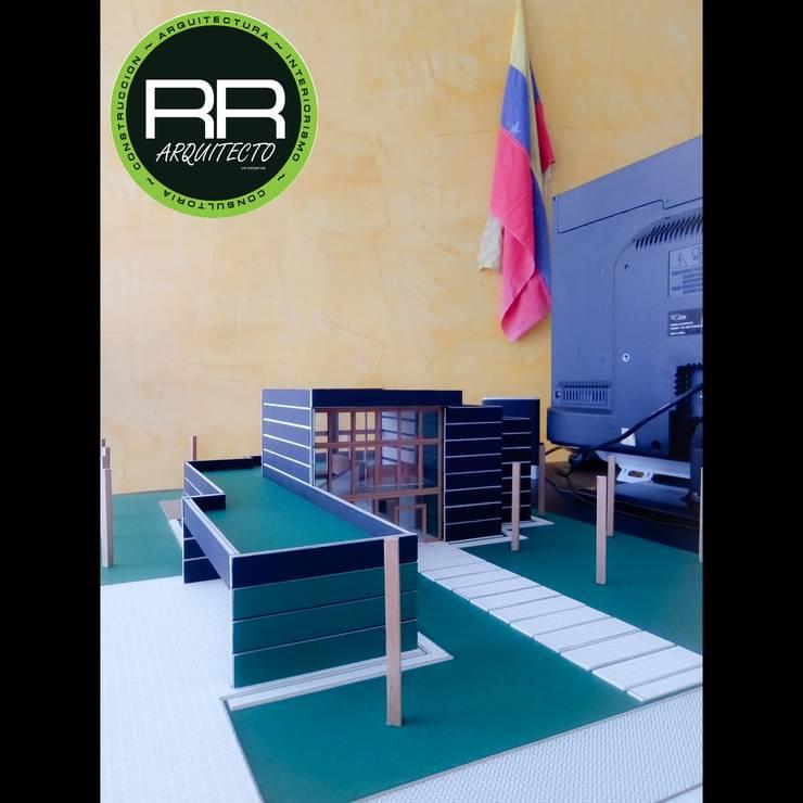 Maqueta - Modelo :  de estilo  por RR Arquitecto