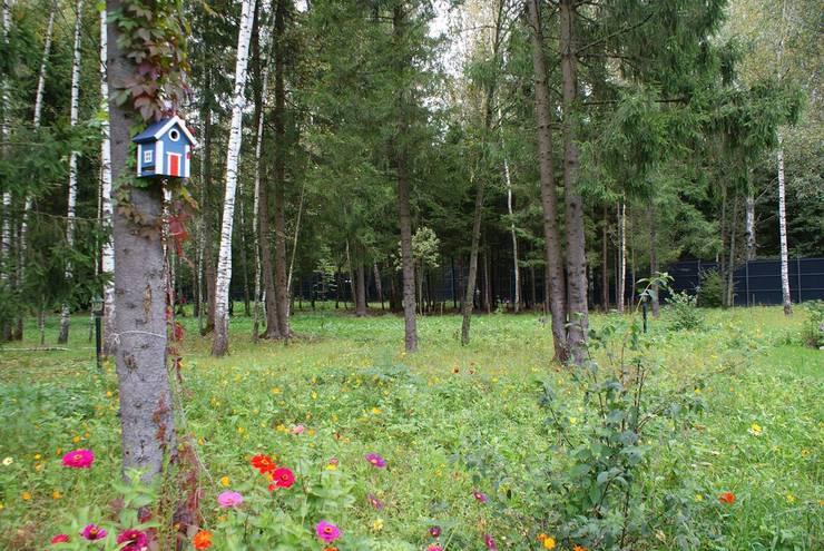 Jardines de estilo escandinavo de ПАН Ландшафт Escandinavo