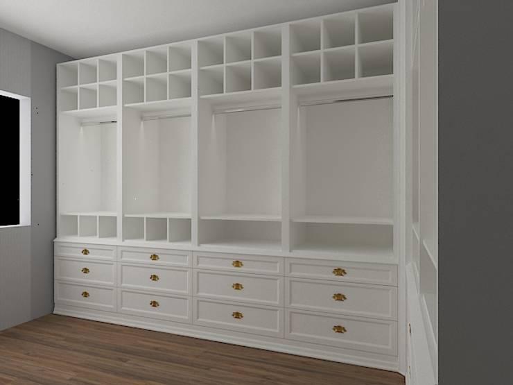 Allizzia Tasarım – Giyinme odası:  tarz Giyinme Odası
