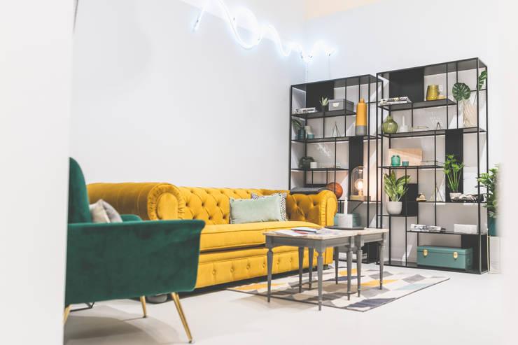 Rincones especiales : Espacios comerciales de estilo  de Interioristas Dimeic, diseñadores y decoradores en Madrid