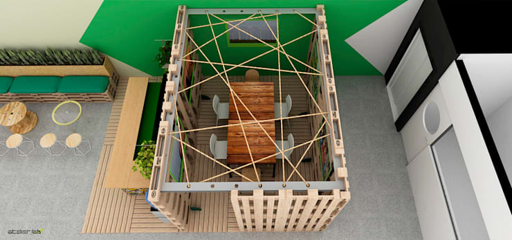 by Atelier LAB Arquitetura Industrial Wood Wood effect