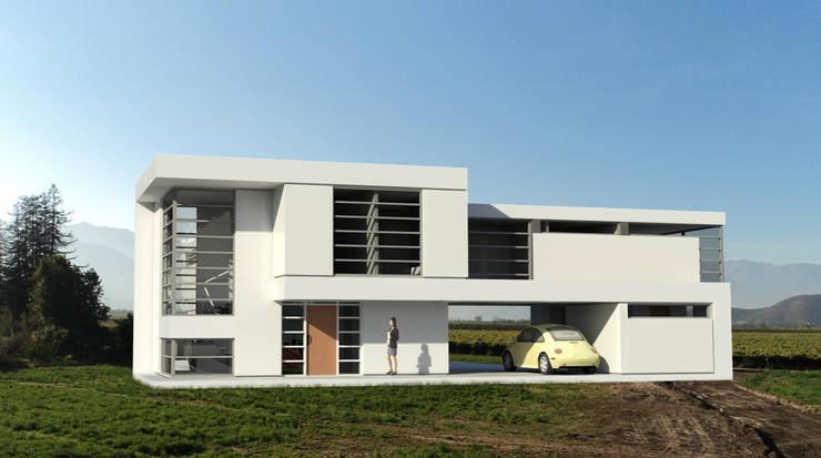Casa Puente Mirador: Casas de estilo  por Tetralux Arquitectos
