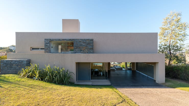 PARA ENVIAR (VIVIENDA Q2): Casas de estilo  por SCHLATTER arquitectura y diseño