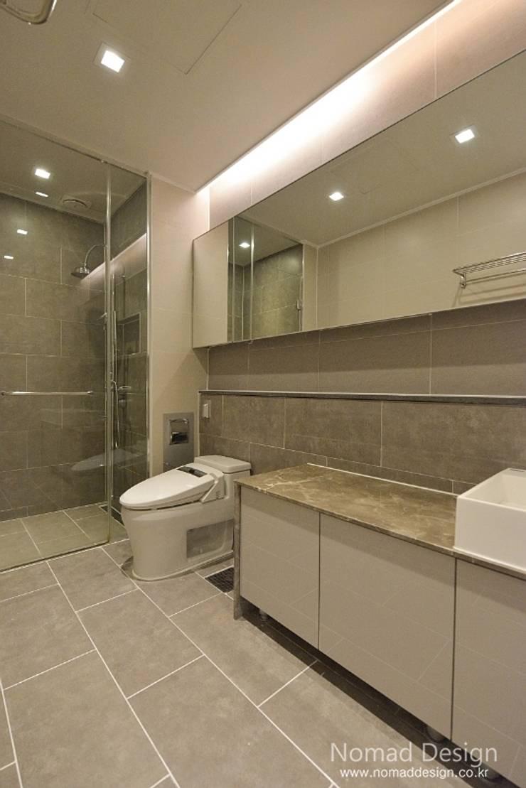 66평 강서구 엘크루블루오션 – 부산: 노마드디자인 / Nomad design의  욕실