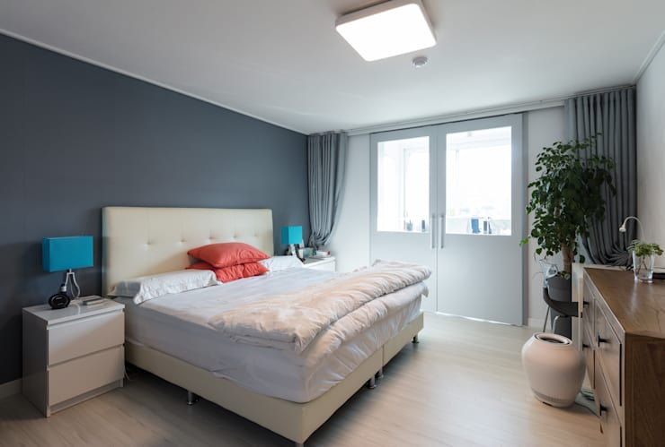 압구정미성아파트: 한디자인 / HAN DESIGN의  방