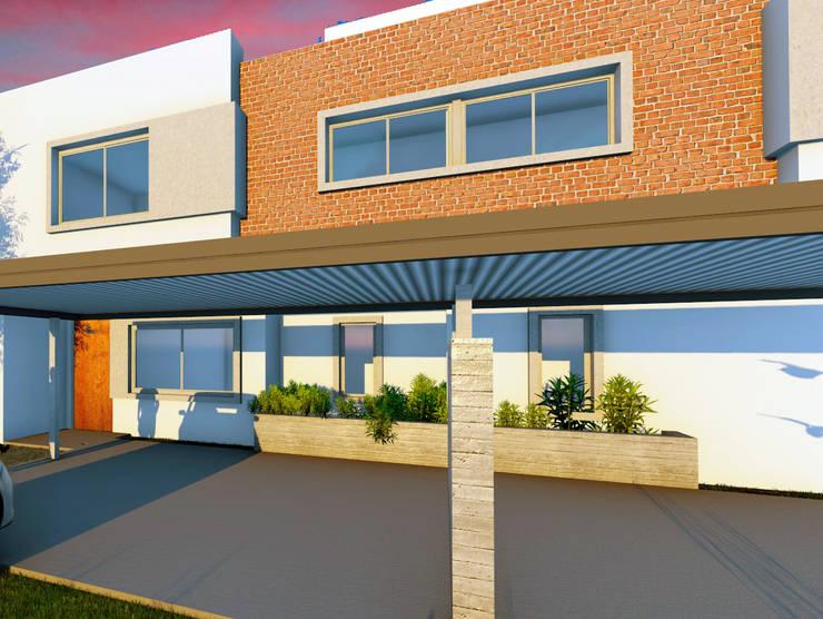 Duplex A Chacra del Norte : Casas de estilo  por f$Mac