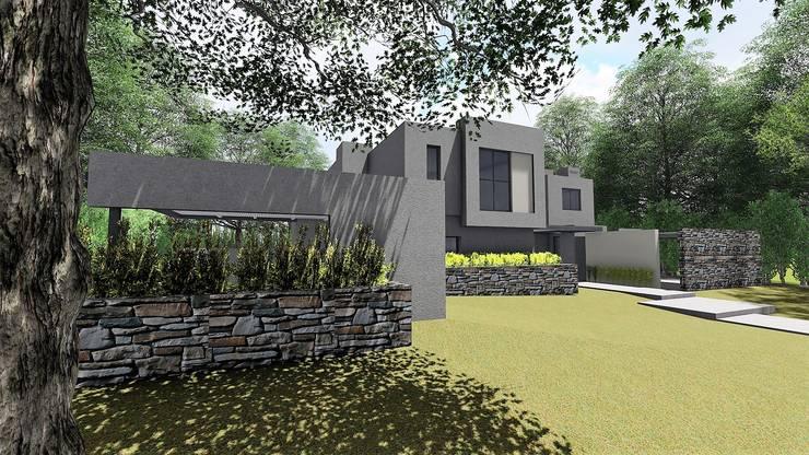 Duplex Villa Allende : Casas de estilo  por f$Mac