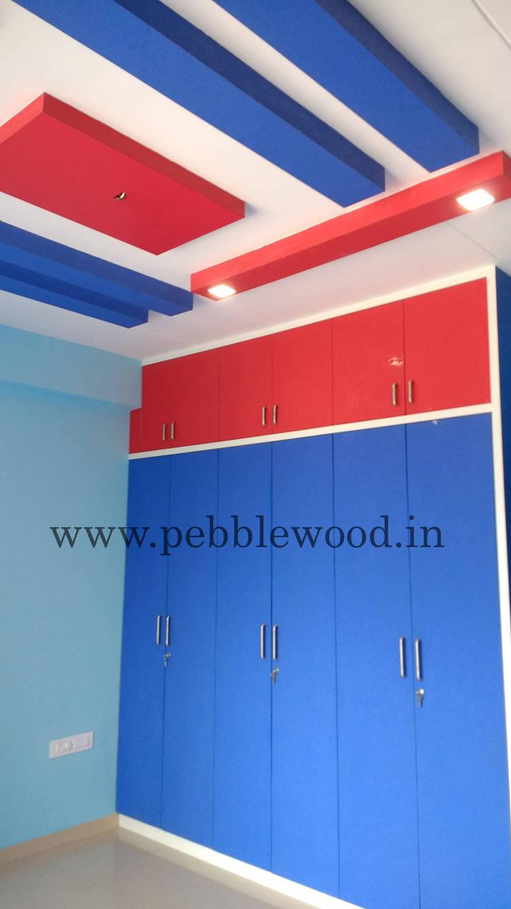 Nandi Citadel—E303:  Nursery/kid's room by Pebblewood.in