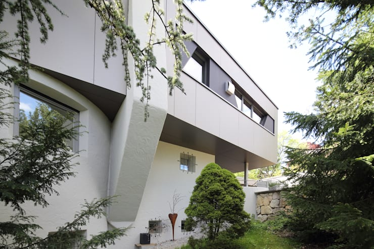 Wohnhaus L:  Häuser von Architekturbüro zwo P,