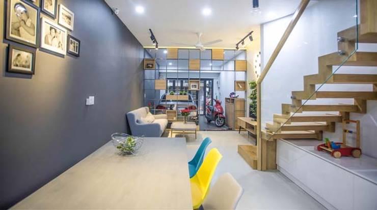 Phòng ăn ấm cúng:  Phòng ăn by Công ty TNHH Xây Dựng TM – DV Song Phát