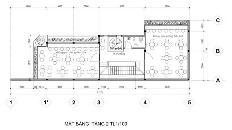 Mat Bang Tang 2:   by Công Ty Cp Thiết Kế Kiến Trúc Và Xây Dựng A9 Design