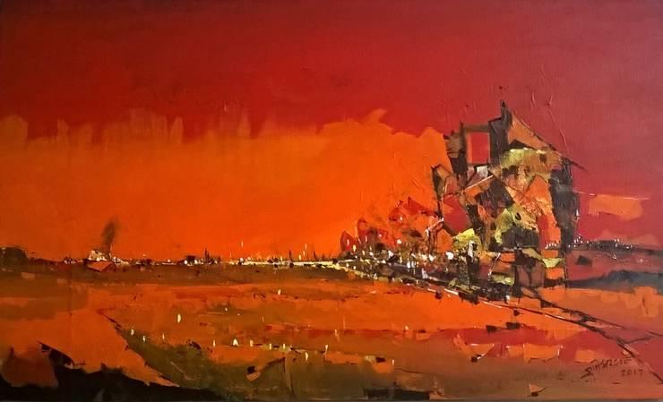 Dawn:  Artwork by Indian Art Ideas
