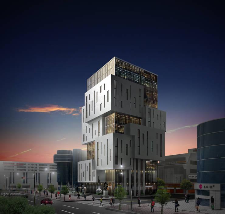 Metasquare: (주)건축&건축사사무소예일의  주택