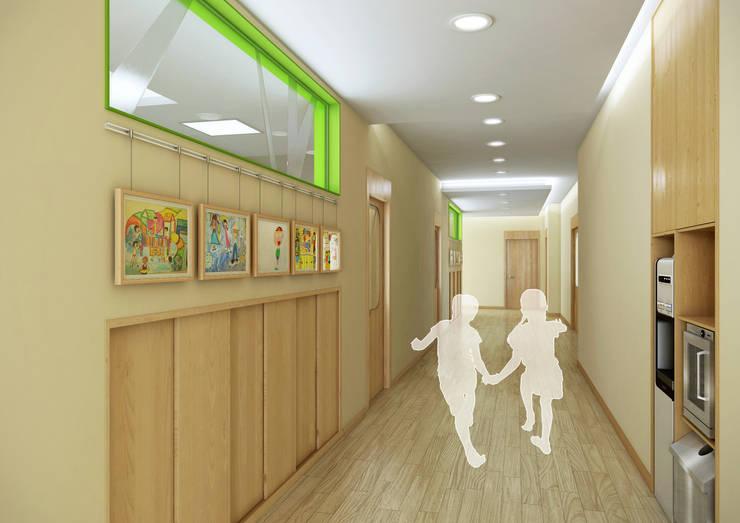 한국항공우주원 직장어린이집: (주)건축&건축사사무소예일의  학교,