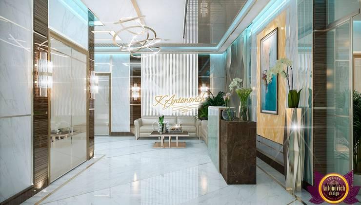 Contemporary design by Katrina Antonovich:  Study/office by Luxury Antonovich Design