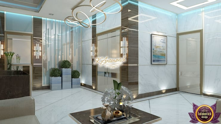 Study/office by Luxury Antonovich Design