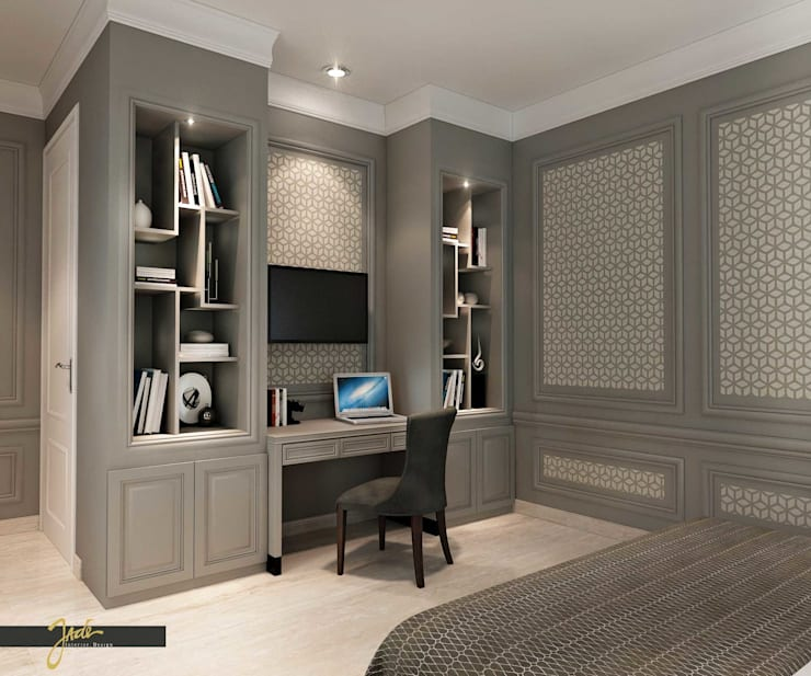 Bedroom - Solo Project :   by Jade Interior Design