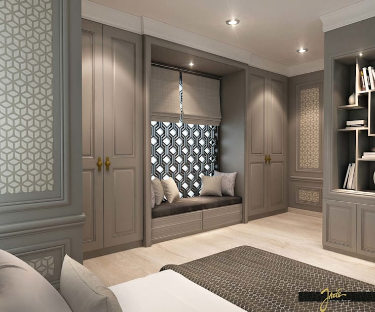 Bedroom – Solo Project :   by Jade Interior Design