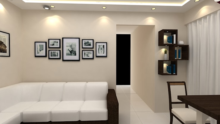 small living room: modern Living room by Creative Focus