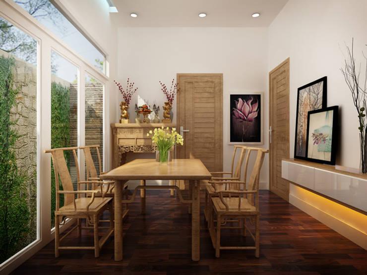 Khu vực thờ cúng trang nghiêm, thanh tịnh:  Phòng học/Văn phòng by Công ty TNHH Xây Dựng TM – DV Song Phát