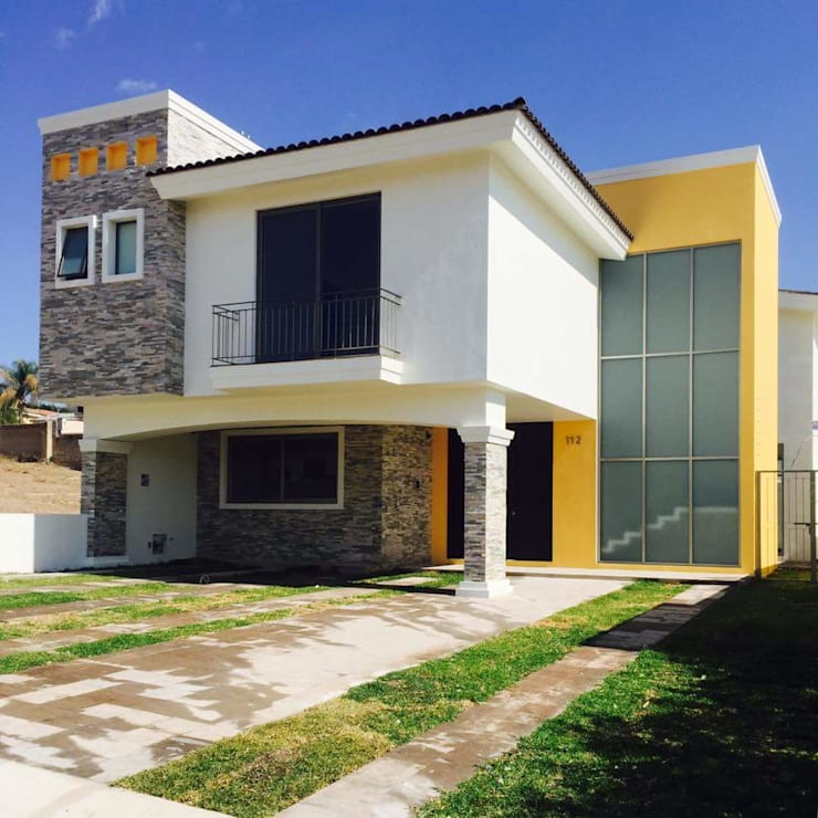 COLINAS DE SANTA ANITA: Casas de estilo moderno por Arki3d