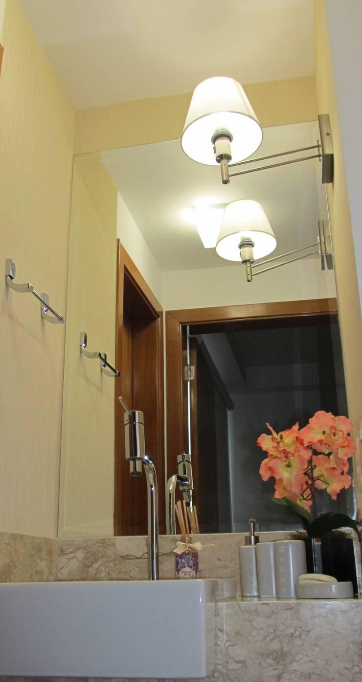 Lavatório: Banheiros modernos por Janete Krueger Arquitetura e Design