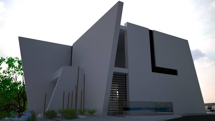 Sintra - SRF Lote 15: Moradias  por Andreia Anjos - Arquitectura, Design e Construção
